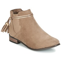 Shoes Women Mid boots Moony Mood GATHA TAUPE