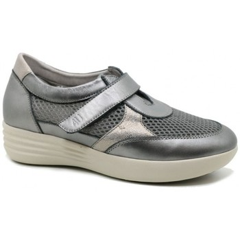 Shoes Women Loafers Relax 4 You BS17704 gris