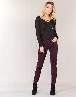 Clothing Women 5-pocket trousers Les P'tites Bombes BEMBRELA Prune