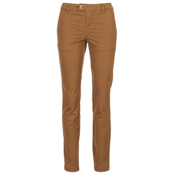 Clothing Women 5-pocket trousers Les P'tites Bombes CHINAI COGNAC