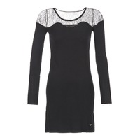 Clothing Women Short Dresses Les P'tites Bombes DARTO Black