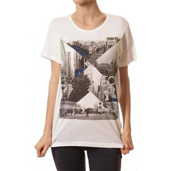 adidas  Tshirt Graphic Tee  womens T shirt in white