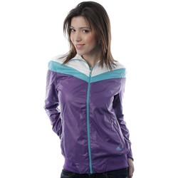 Clothing Women Jackets adidas Originals J Color BL Wind Violet