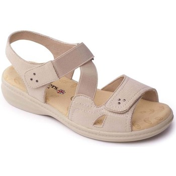 Shoes Women Sandals Padders Louise 2 Womens Casual Sandals BEIGE