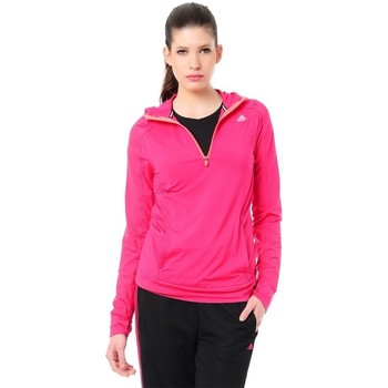 Clothing Women jumpers adidas Originals 12 Hoody Climawarm Pink