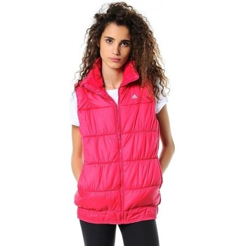 Clothing Women Duffel coats adidas Originals J P LT Vest Pink