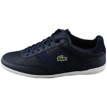 Shoes Men Low top trainers Lacoste Giron Black