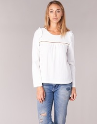 Clothing Women Tops / Blouses Betty London HAMONE Ecru