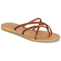 Shoes Women Flip flops Les Tropéziennes par M Belarbi BIP Brown