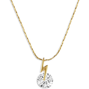 Watches Women Pendants Fashionvictime Pendant For Women By  - 18Ct Gold Plated Jewel- Zirconia Transparent,