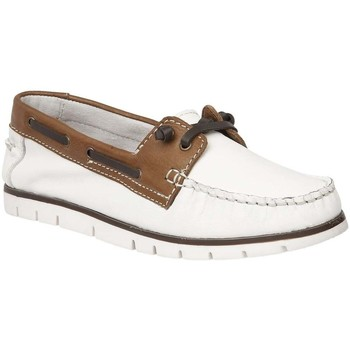 Shoes Women Boat shoes Lotus Silverio Womens Casual Boat Shoes white