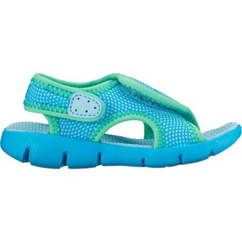 Shoes Children Sandals Nike Sunray Adjust 4 Blue-Green