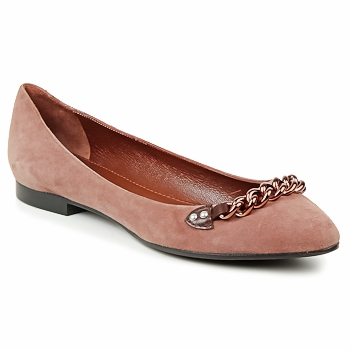 Shoes Women Flat shoes Marc Jacobs CHAIN BABIES Brown