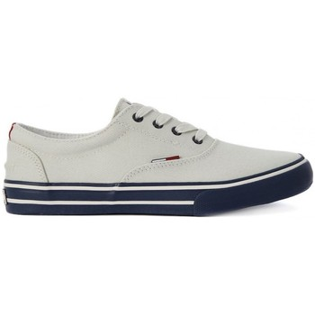 Shoes Men Low top trainers Tommy Hilfiger Tommy Hilfigher Basic White
