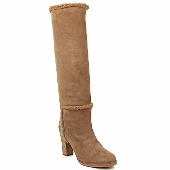 Shoes Women High boots Veronique Branquinho MERINOS Brown