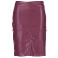 Clothing Women Skirts Vila VIPEN BORDEAUX