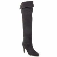 Shoes Women Thigh boots Veronique Branquinho LIBERIUS Black