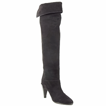 Shoes Women Thigh boots Veronique Branquinho LIBERIUS Black
