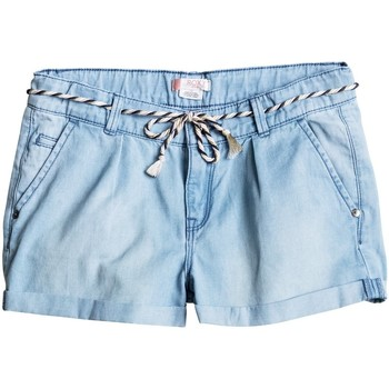 Clothing Girl Shorts / Bermudas Roxy Just A Habit - Pantalones Cortos Vaqueros AZUL
