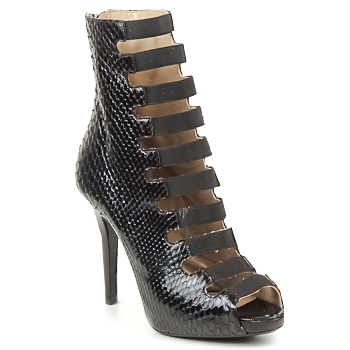 Shoes Women Sandals Michael Kors PYTHON Black