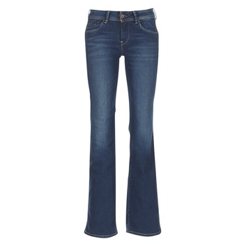 Clothing Women bootcut jeans Pepe jeans PIMLICO Ca0 / Blue / Raw