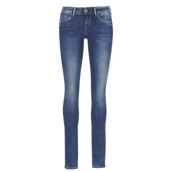 Clothing Women slim jeans Pepe jeans SOHO Blue / MEDIUM