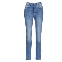 Clothing Women slim jeans Pepe jeans GLADIS Blue / Clear