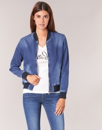 Clothing Women Jackets Pepe jeans BRANDY Blue / Medium