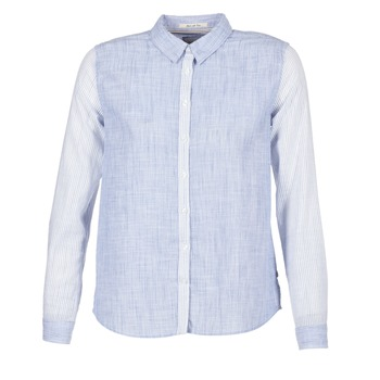 Clothing Women Shirts Pepe jeans CRIS Blue
