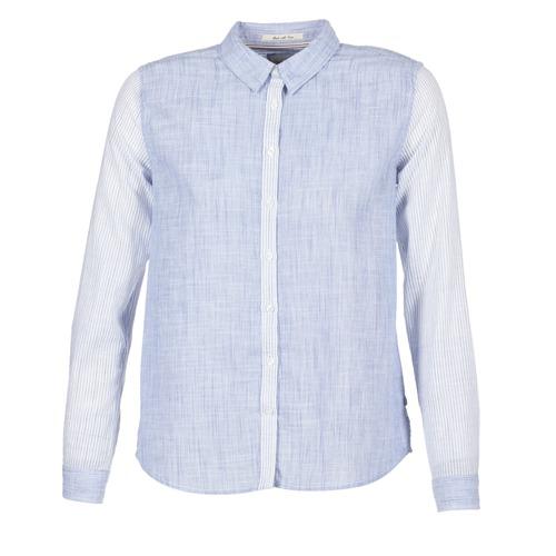 Clothing Women Shirts Pepe jeans CRIS Blue
