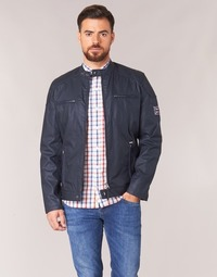 Clothing Men Jackets Pepe jeans RACER Marine