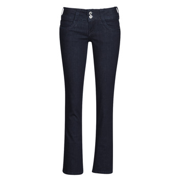 Clothing Women straight jeans Pepe jeans GEN Blue / M15