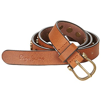 Clothes accessories Women Belts Pepe jeans MARGARET BELT CAMEL