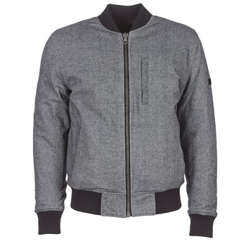 Clothing Men Jackets Pepe jeans EUBEA REVERSIBLE Grey / Black