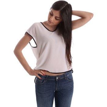 Clothing Women short-sleeved t-shirts Gaudi 73FD45205 Blusa Women White White