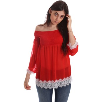 Clothing Women short-sleeved t-shirts Gaudi 73FD45208 Blusa Women Red Red