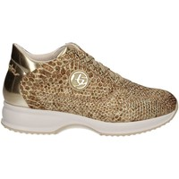 Shoes Women Low top trainers Byblos Blu 672010 Sneakers Women Gold Gold