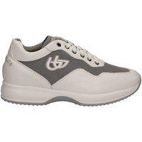 Shoes Men Low top trainers Byblos Blu 672055 Sneakers Man Bianco Bianco