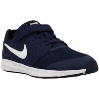 Shoes Children Low top trainers Nike Downshifter 7 Psv Navy blue-White