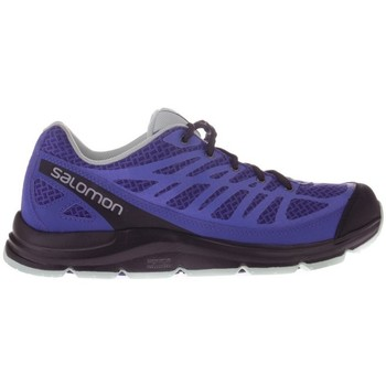 Shoes Women Running shoes Salomon Trail Score Synapse Black-Blue