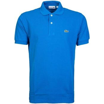 Clothing Men short-sleeved polo shirts Lacoste Polo Shirt L1264 HRE blue