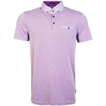 Clothing Men short-sleeved polo shirts Ted Baker Polo Shirt TS7M/GB35/SUPER 65 purple