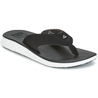 Shoes Men Flip flops Reef REEF ROVER Black / White