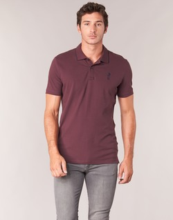 Clothing Men short-sleeved polo shirts Jack & Jones STONE CORE Bordeaux