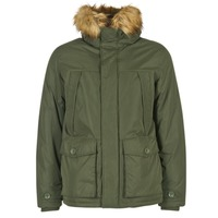 Clothing Men Parkas Jack & Jones MOUNTAIN ORIGINALS KAKI