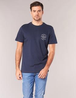Clothing Men short-sleeved t-shirts Jack & Jones ORGANIC ORIGINALS Marine