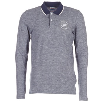 Clothing Men long-sleeved polo shirts Jack & Jones CYMBAL ORIGINALS Grey