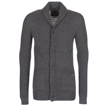 Clothing Men Jackets / Cardigans Jack & Jones INSPECT ORIGINALS Grey