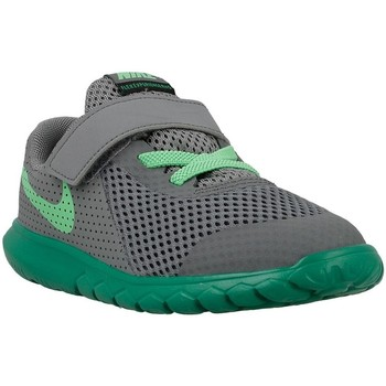 Shoes Children Low top trainers Nike Flex Experience 5 Green-Grey