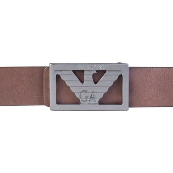 Clothes accessories Men Belts Armani :belt 931061 7P804 brown